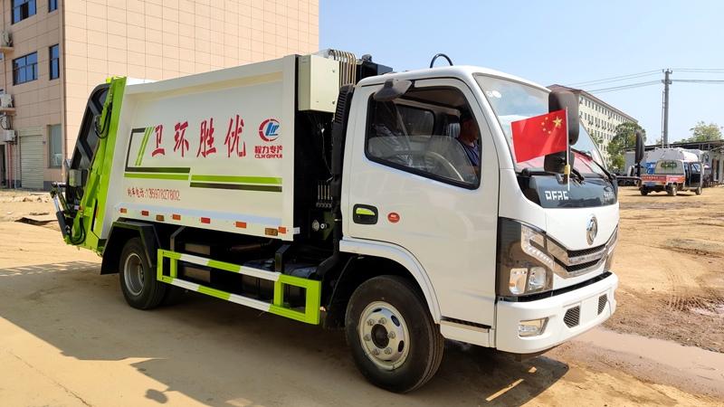 东风小多利卡压缩式垃圾车(国六)